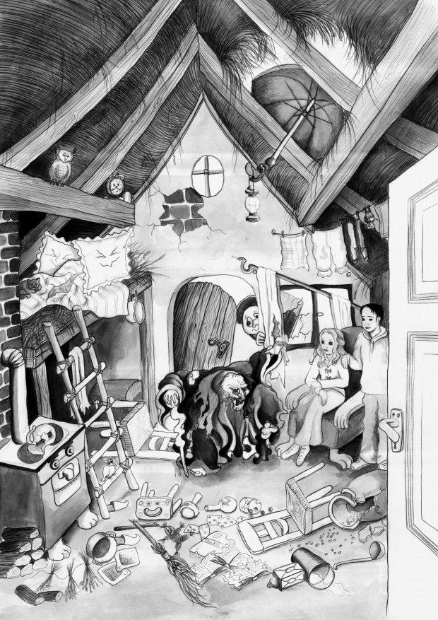 Phantastische Bücher von Astrid Nagel --- Malvorlagen