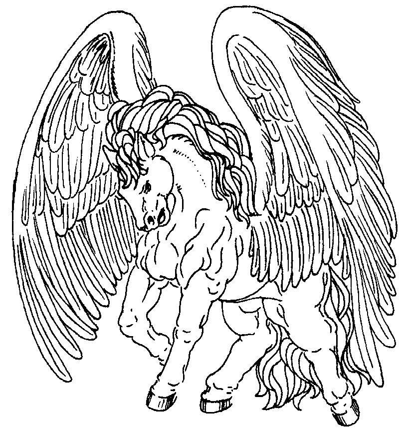 Wunderbar Pegasus Malvorlagen Zum Ausdrucken Ideen - Druckbare ...